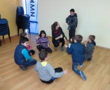 Детска работилница за мартеници с деца от ЦОП ИМКА