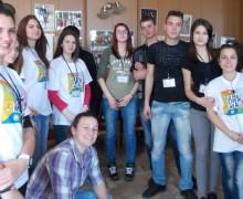 """""""Осем цели - ние действаме!"""" в ПГХТТ, Пловдив"""