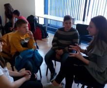 """Обучение """"Работа в екип"""" на ученическия съвет на ПМГ Габрово"""