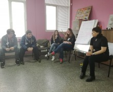 """Обучение """"Въведение в доброволчеството"""" в Младежки център Севлиево"""