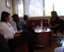 Посещение на гости от Бурунди, Африка в Габрово