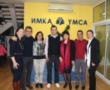 Коледно парти с членове и доброволци на ИМКА Габрово