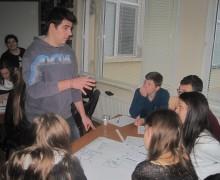 Втора инфо среща на МИКЦ, ИМКА Габрово в Младежки център Севлиево