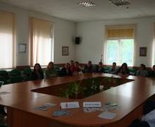 """Дискусия на тема """"Възможността за професионално ориентиране и трудова реализация чрез доброволчество""""."""