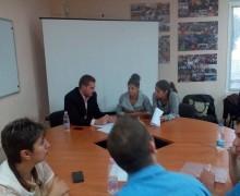 Кръгла маса в Младежки център Севлиево