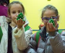 Работилничка за деца - коледна украса